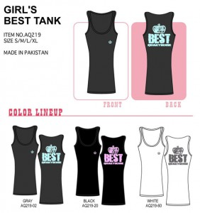 GIRLS BEST TANK